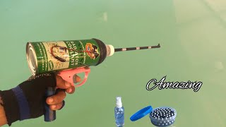 Creative & DIY H๐w To Make A Easy Alcohol guns made from motorized water cans are amazing.