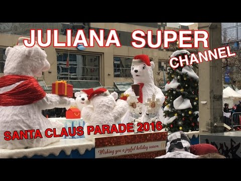 Santa Claus Parade Toronto Canada 2016 - HD 4K