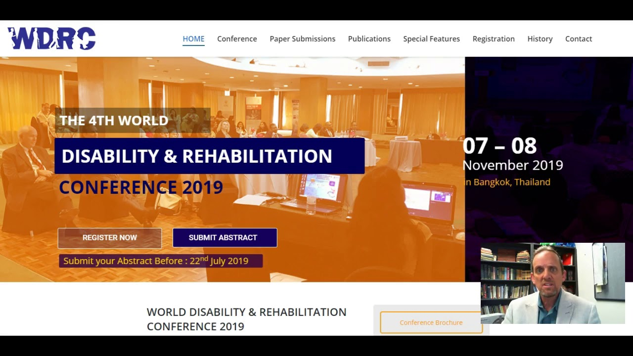 Home - World Disability & Rehabilitation Conference 2019