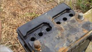 Download Car Battery Repair After Sitting 10 Years: How To (Basic Home Products !!!) Mp3 and Videos