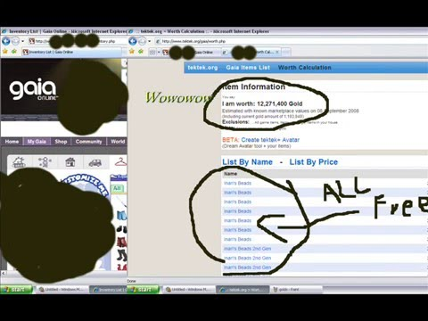 Free Items By Using Gaia HTML CODES (U  can get Rare items) 2010 FOR HACK