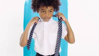 Back to school tips: The easy way to tie a tie