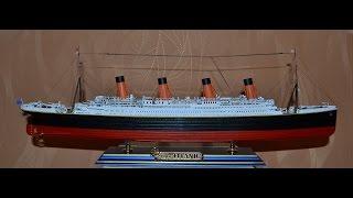 Модель пассажирского лайнера