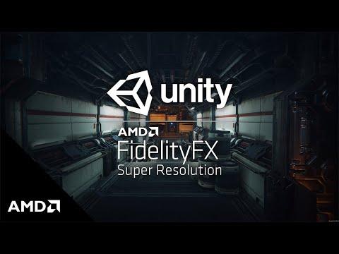 AMD FidelityFX Super Resolution: Unity HDRP FSR Performance Demo