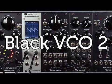 Black VCO 2 sound demo