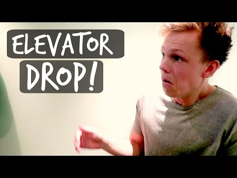 THE ELEVATOR DROPPED!