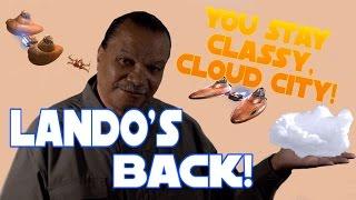 Lando Calrissian Returns! (Exclusive Billy Dee Williams Star Wars Parody)