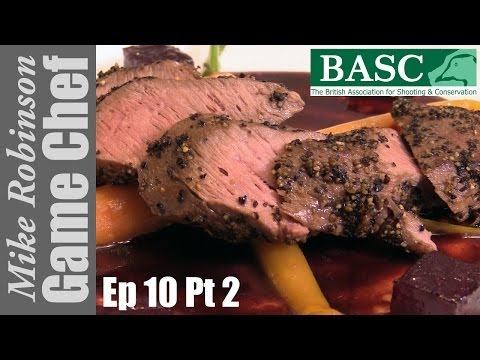 Hare Loin Fillets - a step by step recipe with ITV Game Chef Mike Robinson