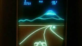 Pole Position overview / gameplay for the Vectrex