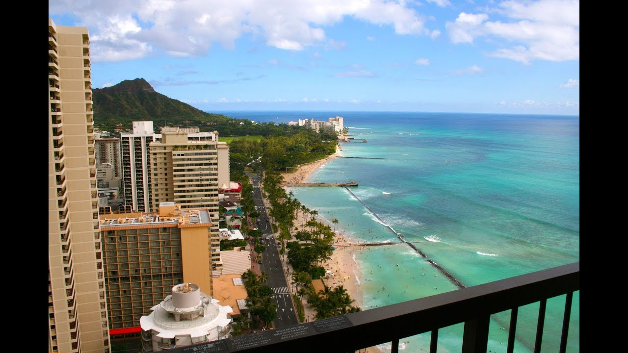 A First Impression Of Hawaii From High Atop The Hyatt Regency Waikiki Beach Resort You
