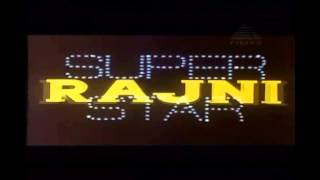 Super Star Rajinikanth Dedication