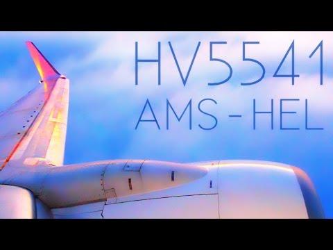 TRIP REPORT + INAUGURAL FLIGHT | Transavia HV5541 | Amsterdam - Helsinki | B737-700