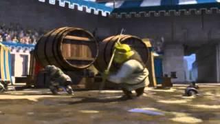 Escena Graciosa de ''Shrek 1''- Pelea con Soldados thumbnail