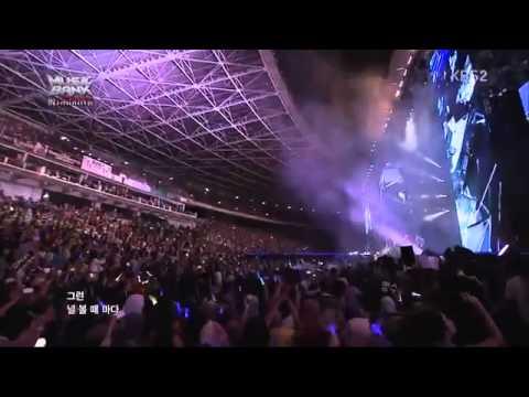 Infinite @ Music Bank Jakarta