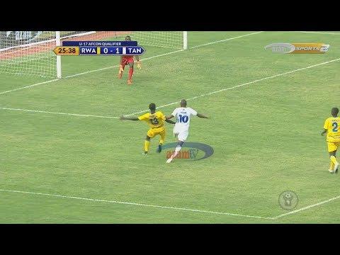 HIGHLIGHTS & INTERVIEWS: RWANDA 0-4 TANZANIA (CECAFA U17 AFCON QUALIFIER)