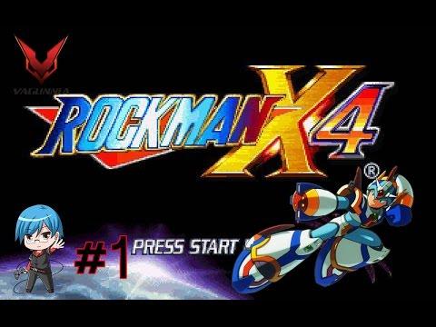 Rockman X4 PS1 (Part 1) รอบนี้เอ็กซ์ขอลุยก่อนล่ะกัน