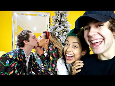 THROWING A CHRISTMAS PARTY DAVID DOBRIK STYLE! | Vlogmas day 16