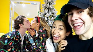 THROWING A CHRISTMAS PARTY DAVID DOBRIK STYLE!   Vlogmas day 16