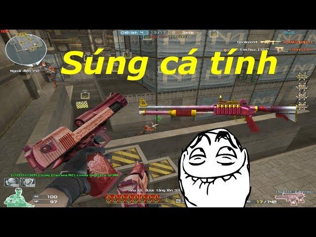 [ Bình Luận CF ] FN TPS -Lovely Heart - Shotgun liên thanh - Tiền Zombie v4