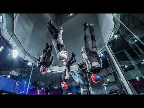 Indoor Synchronised Skydive Moves From Mad Ravens