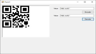 C# Tutorial - How to Encode and Decode QR Code | FoxLearn