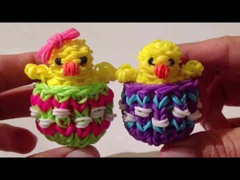 Rainbow Loom Nederlands Paas Eierdopje Easter Eggshell Original
