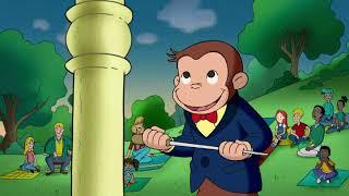 Le Chef D'orchestre🐵 Georges le Petit Singe 🐵Saison 2  🐵Dessin Animé 🐵Animation Pour Enfants