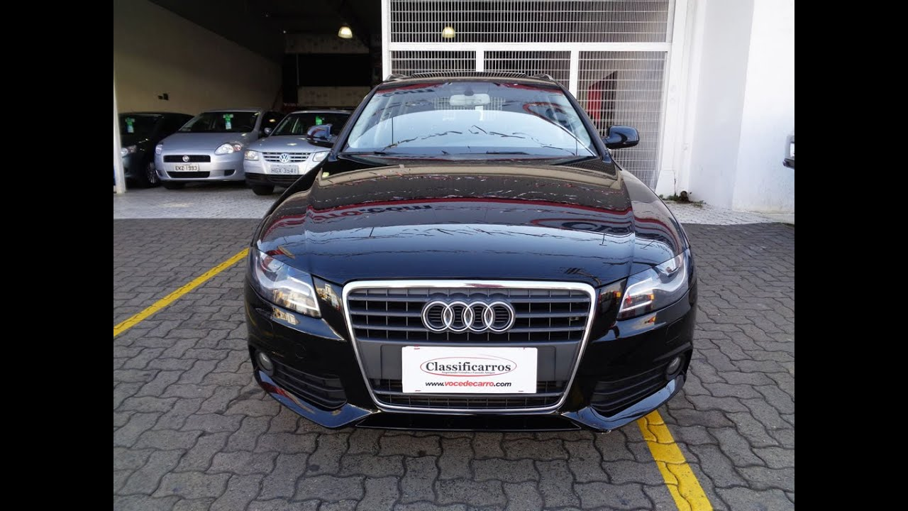 Audi A4 2.0 T >> Audi A4 Avant 2.0 16v Automático (Turbo) - 2011 - YouTube