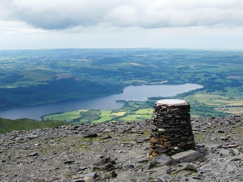 Lake District Country Walk   Skiddaw via Little Man and Carl Side from Latrigg Car Park round
