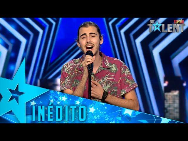 Este CANTANTE vuelve a cantar tras una importante operación   Inéditos   Got Talent España 2021