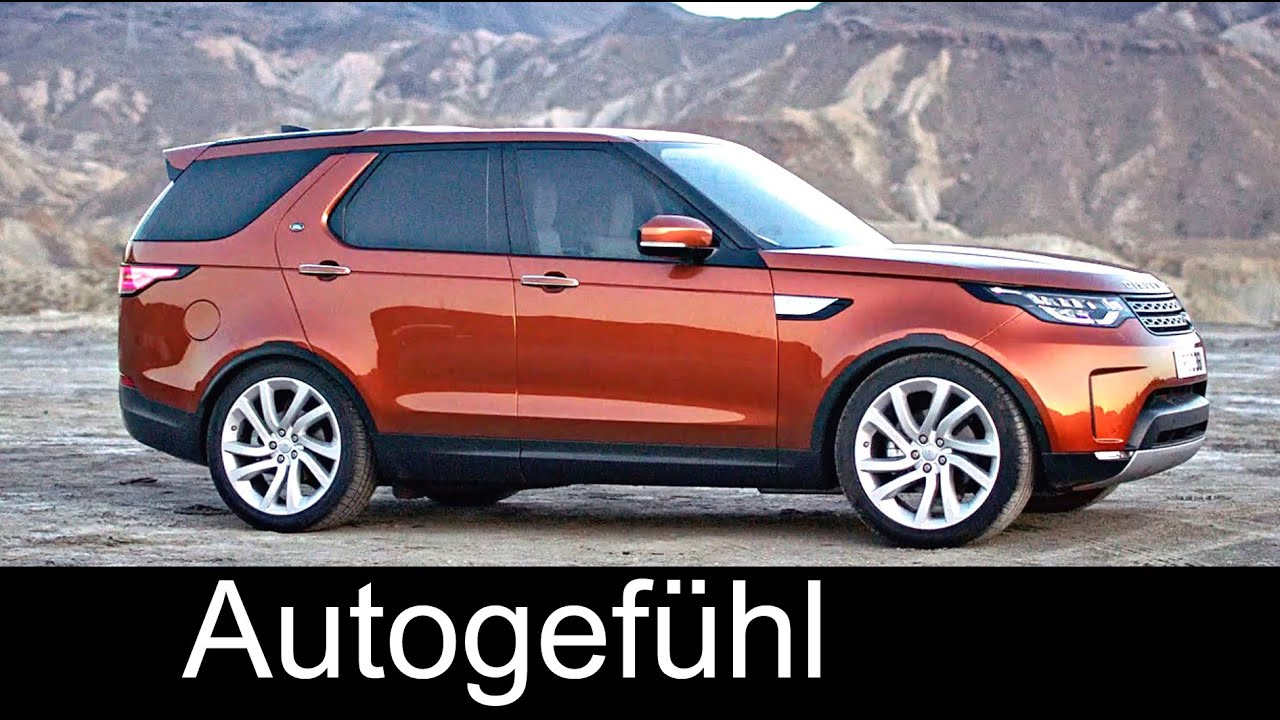 All New Land Rover Discovery 2017 Preview Exterior