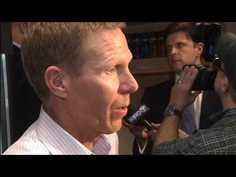Mark Few Reacts to Gonzaga Beating West Virginia