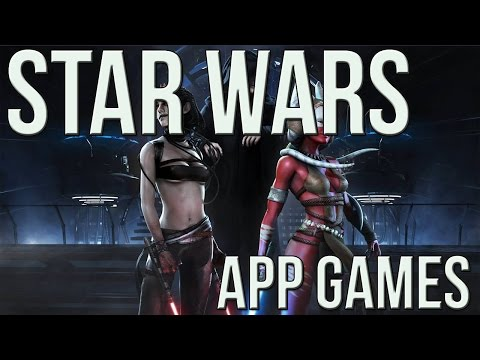 Top Star Wars APP GAMES!