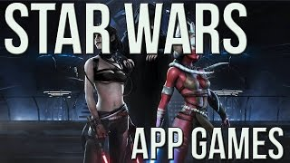 Top Star Wars APP GAMES!