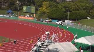 第41回九州学生陸上競技選手権大会 男子4×100mR 決勝