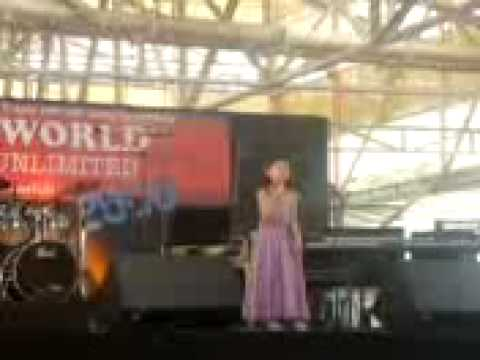 Lesley Misha de Torres at Music World and Talents Unlimited, Baguio City, Philippines