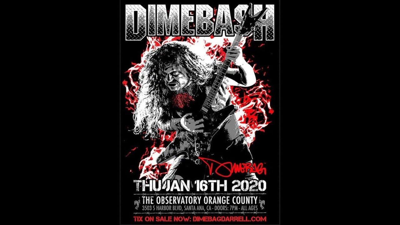 Dimebash 2020 The Observatory OC di Santa Ana, California, Amerikas Serikat akan diisi oleh Anthrax, Lamb of God, Sepultura dll #beritahariini