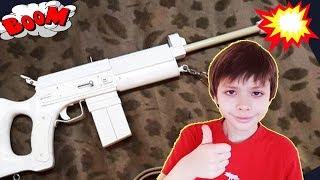 как сделать игрушечное оружие из дерева