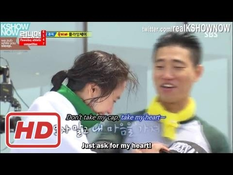 [RM 147] Kang Gary & Song Ji Hyo Accidently Switch Their Caps