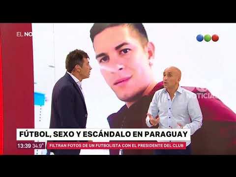 Fútbol, sexo y escándalo en Paraguay – El Noticiero de la Gente