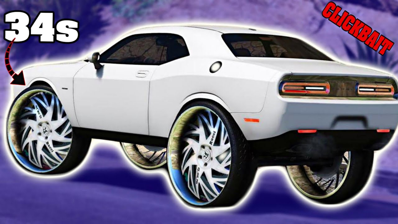 Happy New Years 32gang My Challenger On 34s Rendering Youtube
