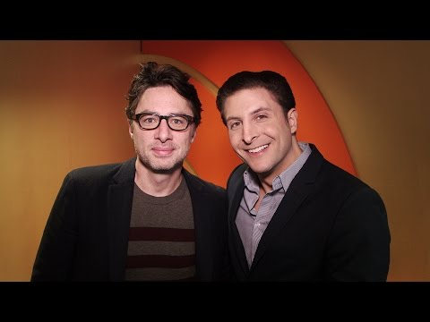 """Zach Braff on """"Going in Style"""" Behind The Velvet Rope with Arthur Kade"""