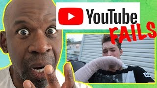 Doctor Reacts To YOUTUBE FAILS | When Youtubers Do Stupid Things | DR. CHRIS