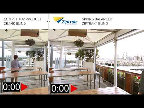 Why Ziptrak® Spring Balanced- Crank vs Spring