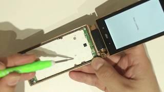 au MARVERA2 KYY09ガラケー液晶画面修理やり方方法