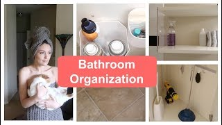 Minimalist Bathroom Organization