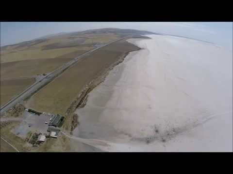Sites of Turkey-Lake Tuz Golu (Salt Lake) - DJI Phantom 2