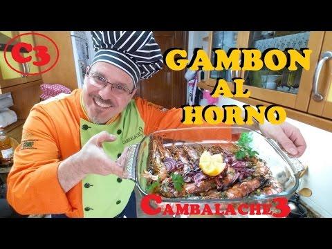 **GAMBON AL HORNO ¡¡DELICIOSOS!!