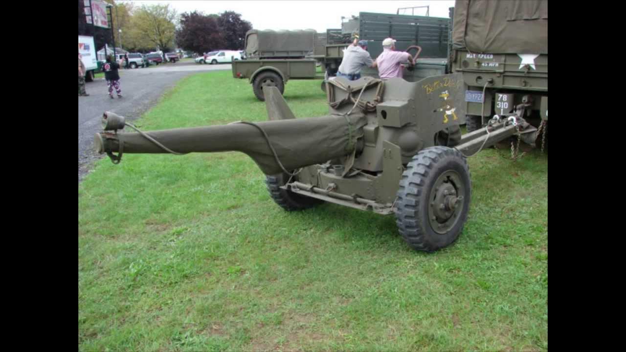 German 50 Mm Anti Tank Gun: WWII M1 57mm Anti Tank Gun Detail Walk Around Video. 2013