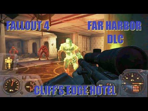 Fallout 4 Gameplay: Cliff's Edge Hotel - Far Harbor DLC.